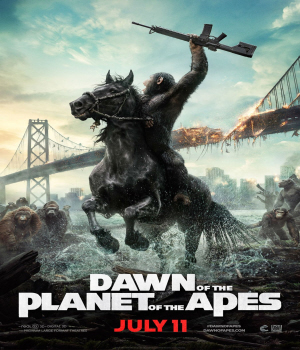 Dawn Of The Planet Of The Apes 2.