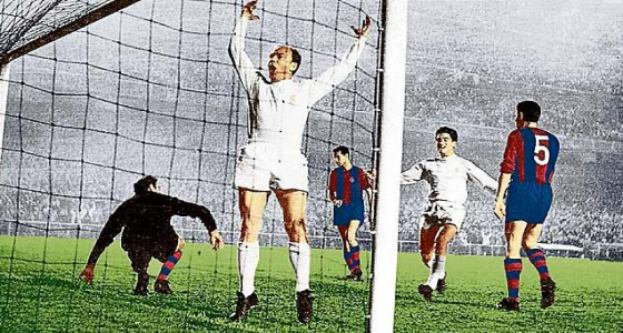 Di Stefano Real Madrid Barcelona.