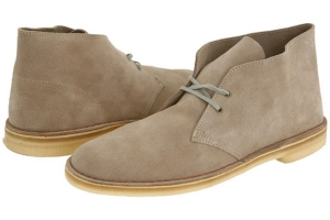 Nick Churchill on Clarks Desert Boots