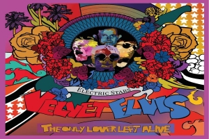 Sounds Like Music - The new album by The Electric Stars: Velvet Elvis The Only Lover Left Alive.