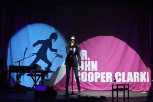 Dr.John Cooper Clarke – Liverpool Guild of Students 11th June 2016 – Live Review